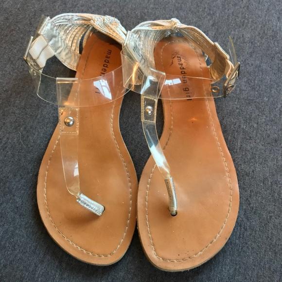 Madden Girl Shoes | Clear Tstrap Sandal